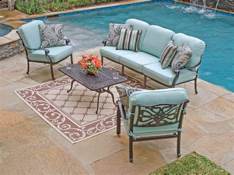 2947008   Orleans Seating   Cast Aluminum Patio Furniture   Outdoor Patio Furniture   Chair King