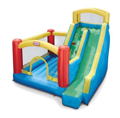 tikes slide bounce house