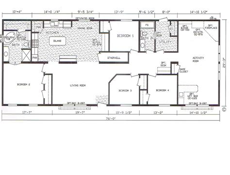 bedroom bath mobile home also 4 wide floor plans