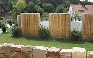 Bambus Edelstahl Sichtschutz : zaun und sichtschutz ~ Markanthonyermac.com Haus und Dekorationen