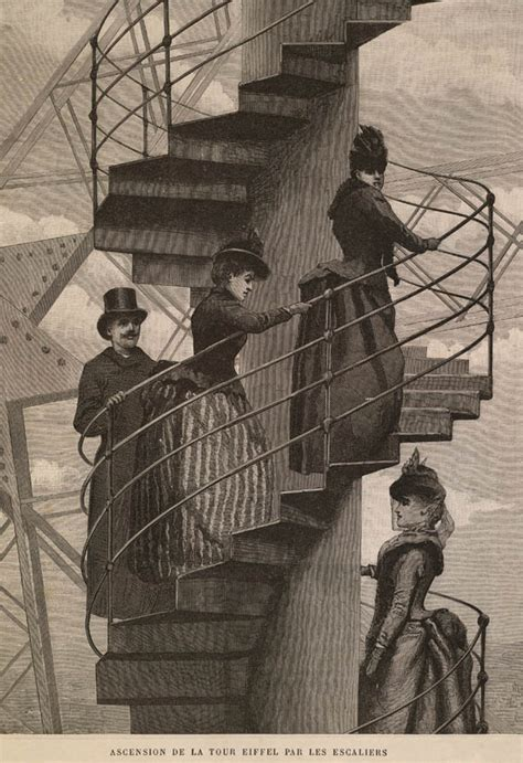 the news and the articles 187 two eiffel tower staircase