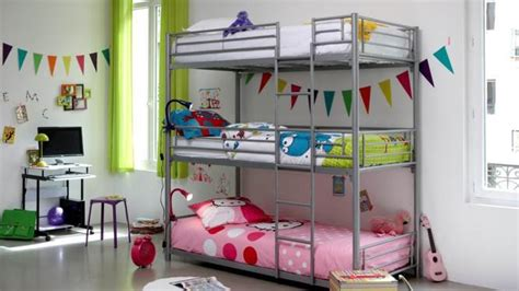 decoration chambre avec lit superpose visuel 4