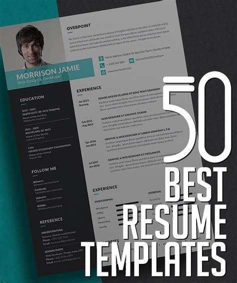 50 Best Resume Templates  Design  Graphic Design Junction. Sample Bar Manager Resume. College Student Resume Template. Marketing Resume Skills. Example Of Great Resume. How To Make A Detailed Resume. Resume Of Cost Accountant. Professional Server Resume. In Resume