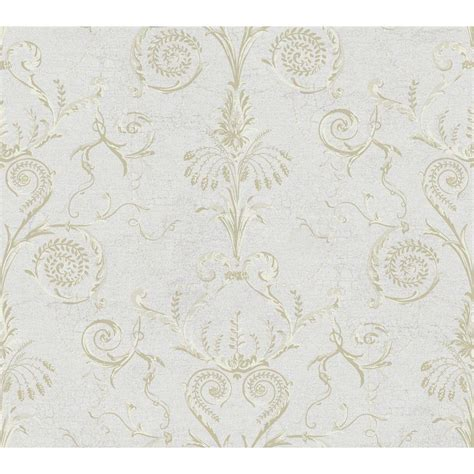 york wallcoverings black and white beige chagne toile wallpaper ab1948 the home depot