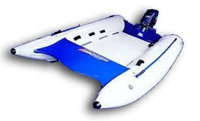 Inflatable Boat Disadvantages by Inflatables Only Catamaran Vs Monohull Boat Design Net