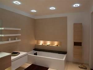 Spots Für Badezimmer : badbeleuchtung f r decke 100 inspirierende fotos ~ Markanthonyermac.com Haus und Dekorationen