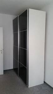 Ikea Möbel Weiß : ikea pax kleiderschrank wei graues glas schiebet ren in stuttgart ikea m bel kaufen und ~ Markanthonyermac.com Haus und Dekorationen