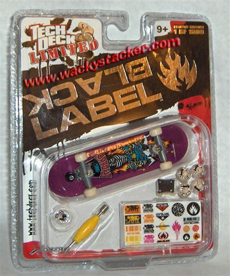 tech deck fingerboards handboards skateboards limited edition buy at wackystacker