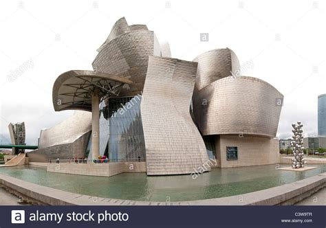 the guggenheim museum bilbao modern contemporary designed by stock photo royalty free image