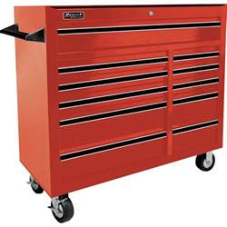 homak pro series 41in 11 drawer rolling tool cabinet 42in w x 18 1 8in d x 38 3 4in h tool