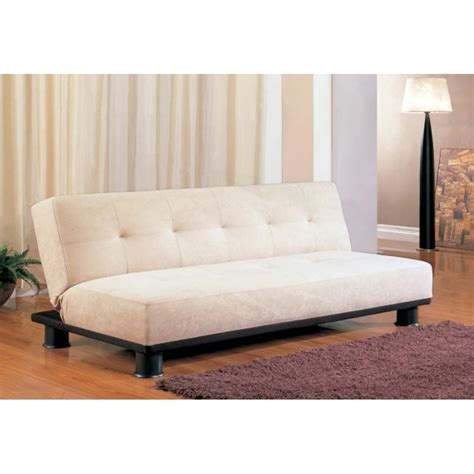 sofa beds contemporary armless convertible sofa bed