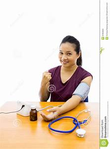 Woman With Blood Pressure Test Stock Image - Image: 31953055