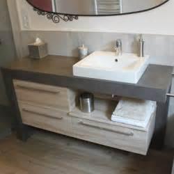 meuble vasque a poser salle de bain