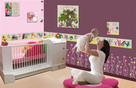 decoration chambre bebe fille originale