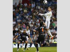 Real Madrid 43 Valladolid Ronaldo headers bring down the