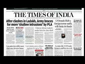 The Times of india news today 17/8/17 daily english ...