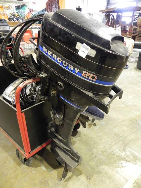 Buitenboordmotor Afstandsbediening by Buitenboordmotor Mercury 20 Pk Electrische