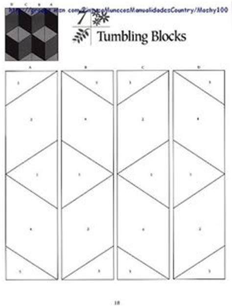 Tumbling Block Quilt Pattern Template by Quilt Patterns On Pinterest Quilt Patterns Free Pattern