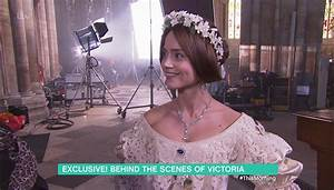 Take a behind the scenes look at Jenna Coleman's stunning ...