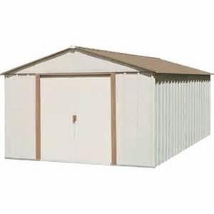 arrow 10 x 11 mid gable storage building sr1011 lawn
