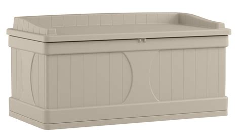suncast 99 gallon deck box with seat shop your way shopping earn points on tools