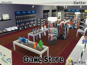 TS2 to TS4 Game Store by Sim4fun at Sims Fans » Sims 4 Updates