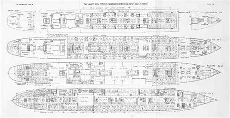 Titanic Boat Structure by Olympic British Ship Britannica