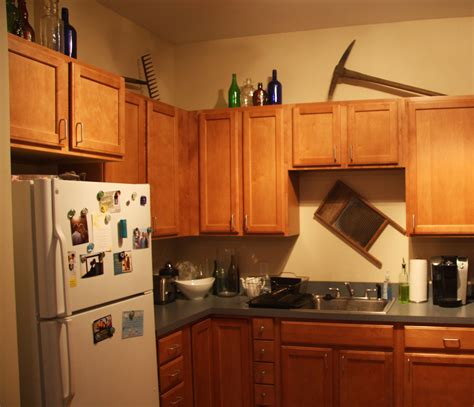 decorating ideas for top of kitchen cabinets home design and decor reviews