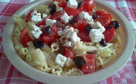 recette salade de p 226 tes aux tomates f 233 ta olives pas ch 232 re et express gt cuisine 201 tudiant