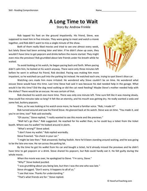 Worksheet Reading Comprehension Worksheets Third Grade Worksheet Best Free Printable Worksheets
