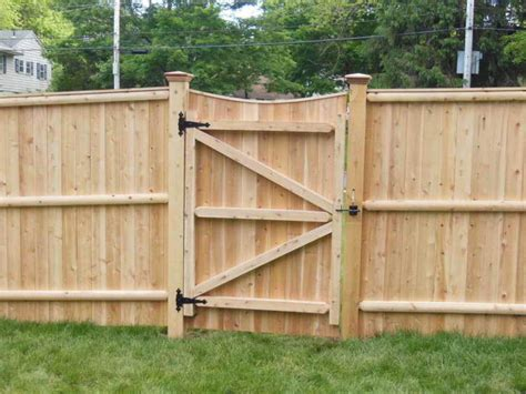 Fence - Gate : Building A Privacy Fence Gate With Wood Material