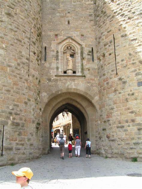 carcassonne la cit 233 tours et porte narbonnaise