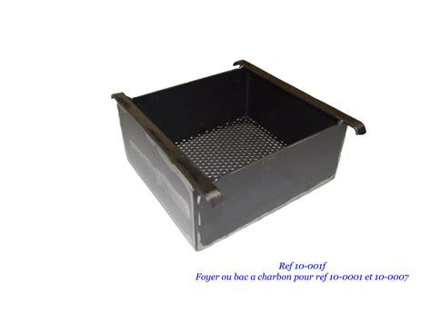 foyer ou bac a charbon pour brasero et four a reblochon la forge de megeve