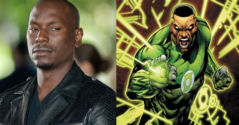 tyrese gibson to play green lantern in justice league