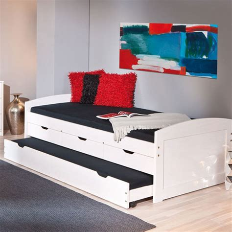 Ulli Day Bed With 3 Drawers And Pull Out Under Bed In White. Queen Bed Base With Drawers. Ikea Brown Desk. 6 Foot Table. Corner Desk Sleeve. Drop Down Desks For On Wall. Surgery Table. Scorers Table. Small Wood Chest Of Drawers