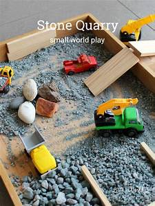 How to Create a Stone Quarry Small World - Little Worlds