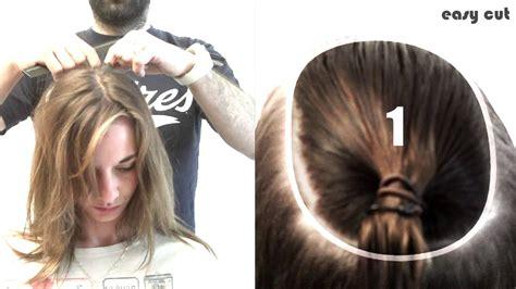 comment couper ses cheveux en carre plongeant en 5mn pro