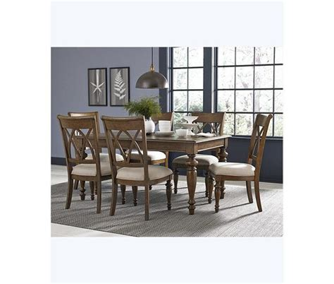 oak harbor 5 pc dining set table 4 side chairs dining sets furniture macy s macys