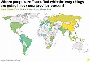 Map: Where people feel good and bad about how their ...