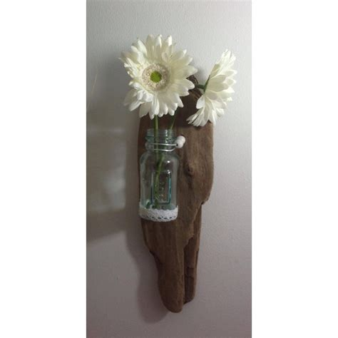 applique murale en bois flott 233 vase en verre https www tethysart