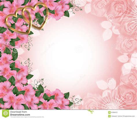 azal 233 es de de cadre d invitation de mariage photographie stock image 8189472