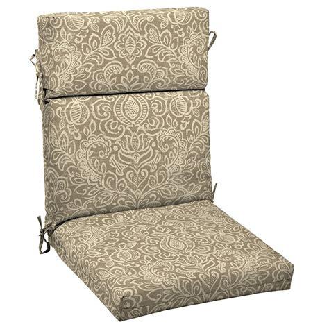 patio high back patio chair cushions home interior design