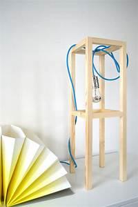 Schlafzimmer Lampe Selber Machen : diy lampe tischleuchte selber machen ich designer ~ Markanthonyermac.com Haus und Dekorationen