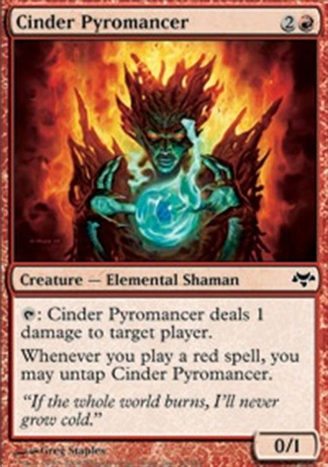 pyromancer burn deck 28 images magic the gathering