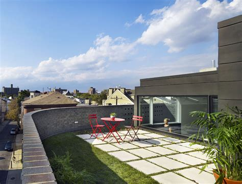 floor plans terrace split level house in philadelphia by roof garden split level house in philadelphia by qb design