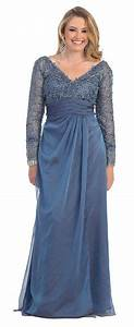 Chiffon Long 3/4 Sleeve Plus Size Jacket Mother of Bride ...