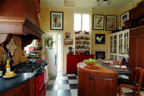 Red Aga  Traditional  Kitchen  Boston  By Kmarshall