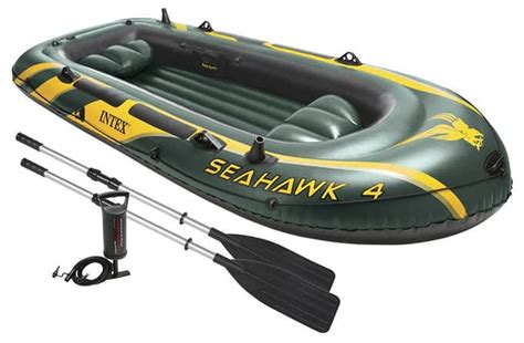 Intex Inflatable Boat Review by Intex Seahawk 4 Review Inflatable Boater