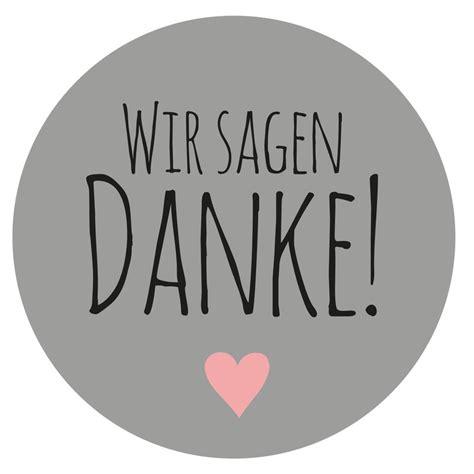 48 Aufkleber Danke grau bei Party Schlaudt Wiesbaden kaufen