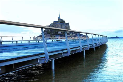fran 231 ois hollande inaugure le barrage du couesnon au mont michel btp construction